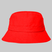 Brushed Sports Twill Adult Bucket Hat