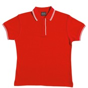 Ladies Contrast Trim Polo 2LCP