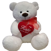 Teddy Bear - Personalised Heart