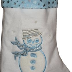 Blue Christmas Stocking Thumbnail