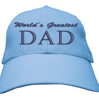 Greatest Dad - Heavy Brushed Cotton Cap Thumbnail