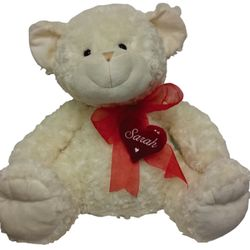 Valentines Teddy Bear - heart Personalised Thumbnail