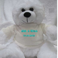 Personalised Teddy with name Thumbnail